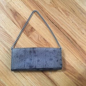 Ann Taylor Leather Clutch or Over Shoulder Purse